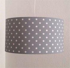 Great Lampenschirm cm NEU grau kleine Sterne Kinderzimmer Lampe in Altona Hamburg Ottensen Lampen