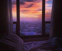 pretty sky through the window Pretty Sky, Beautiful Sky, Beautiful Places, Pretty Hurts, Beautiful Morning, Beautiful Scenery, Window View, Night Window, Room Window
