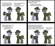 My little marine pony?