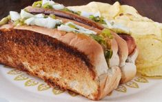 The New England Hot Dog Bun ---from Yankee Magazine --- With a toasted, buttery outside and a soft inside, top-loading New England hot dog bun is arguably one of the best buns in the world. Bun Recipe, Rolls Recipe, New England Hot Dog Buns Recipe, Hot Dog Rolls, A Food, Good Food, Best Lobster Roll, Hot Dog Toppings, Canned Butter