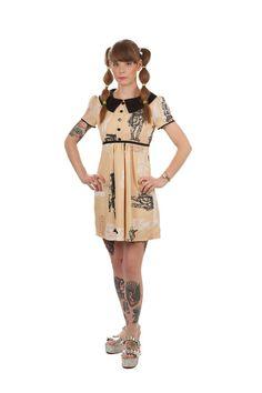 Star Wars Baby Doll Dress. $89.95, via Etsy.