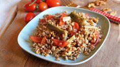 insalata di farro 6 Orzo, Ale, Grains, Menu, Cooking, Estate, Food Ideas, Vegetarian, Menu Board Design