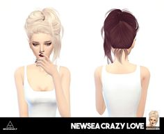 Sims 4 CC's - The Best: Hair Recolors by Missparaply