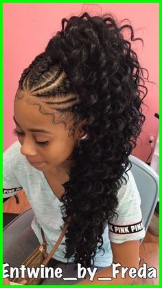 Popular braided ponytail hairstyles for black hair Ponytail Hairstyles, Weave Hairstyles, Girl Hairstyles, Trendy Hairstyles, Updo Hairstyle, Wedding Hairstyles, Gorgeous Hairstyles, School Hairstyles, Everyday Hairstyles