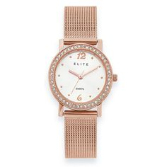 Gold, Silver, Diamond and Gemstone jewellery, and extensive watch collections Mesh Band, Gold Watch, Quartz, Jewels, Watches, Stone, Lady, Rock, Bijoux