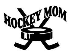 I am a hockey mom
