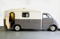 Westfalia Motorhome 1956 Car Camper, Camper Caravan, Camper Trailers, Camper Van, Travel Trailers, Camping Vintage, Vintage Rv, Vintage Trailers, Vintage Caravans