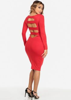 Bodycon Sexy Red Dress