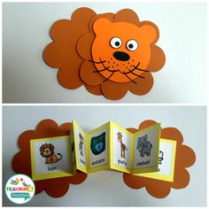 Have a fun day at the zoo with this craftivity and game pack Interactive Vocabulary Activities by Preschool Learning Activities, Vocabulary Activities, Preschool Books, Speech Therapy Activities, Interactive Activities, Toddler Activities, Preschool Kindergarten, Karton Design, Teaching Aids