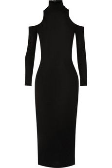 Balmain Cutout wool dress | NET-A-PORTER