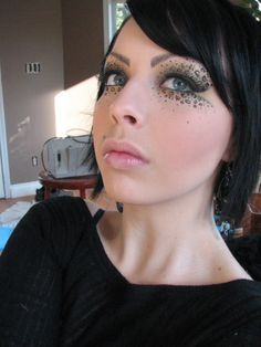 Leopard Print Makeup would be sick for a photoshoot and be funn to do to someone! :)