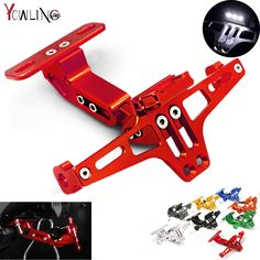 Motorcycle CNC License Plate Bracket Licence Plate Holder Frame Number Plate For Ducati 696 749 MONSTER M400 M600 M620 2009-2013 #Affiliate