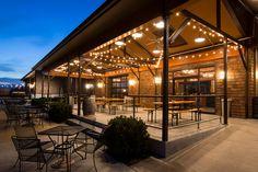 The Tasting Room, Newport Vineyards Cafe Interior Design, Cafe Design, House Design, Outdoor Restaurant Design, Rustic Restaurant, Lumiere Restaurant, Outdoor Cafe, Outdoor Decor, Coffee Shop Design