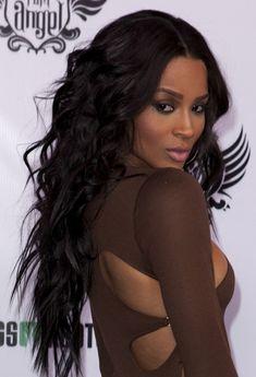 Long Black Hairstyles For Black Women ~ http://wowhairstyle.com/black-hairstyles-for-long-hair/