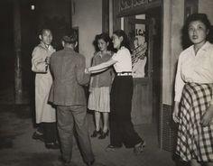 Pan Pan girls. C.1940's