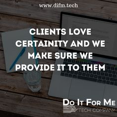 #Running your #own #business can be #stressful, but actually getting #clients to keep your #business #afloat is great.  #Your_clients are #critical to your business. Don't lose #touch with who they are and why they've #chosen to do business with #you.  #wisdomwednesday #wednesdaywisdom #technologywisdom #socialmediagrowth #difm #doitforme #onlinebusiness #smallbusiness #difmtech #marketing #digitalmarketing #webservices #startup #difmgroup