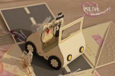 Explosionsbox für Hochzeiten mit Produkten von Stampin' Up als Geschenk für Geld für Hochzeiten Diy Papier, Up, Toys, Blog, Diys, Tutorials, Boxes, Cash Gifts