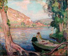 Les bords de la Seine aux Andelys - 1911