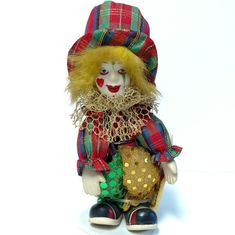 Collectors Choice Clown Collectible Porcelain by VintageByRobin