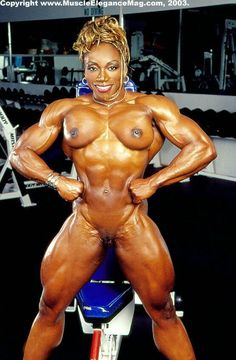 Nude Black Female Body Builders agree