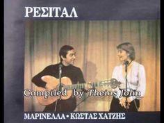 4 τραγούδια από το «Ρεσιτάλ», Μαρινέλλα - Κώστας Χατζής. - YouTube Greek Music, Best Songs, Baseball Cards, Youtube, My Love, Youtubers, Youtube Movies
