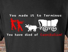 The Walking Dead-Tee Shirt-t-shirt-Oregon Trail by FireAntTees