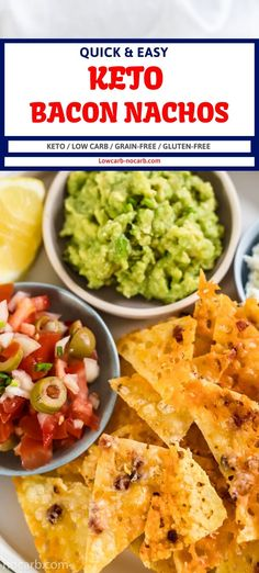 Do you love cheese? YES. Do you love Bacon? YES. Do you love Nachos? YES. If all 3 answers to this are YES, then you have to look into our Keto Cheese Bacon Nachos. Easy to make, tastes outstanding and everyone fights for them. Low Carb Appetizers, Easy Appetizer Recipes, Snacks Recipes, Bacon Recipes, Party Recipes, Keto Snacks, Brunch Recipes, Low Carb Recipes, Diet Recipes