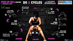 Push Up Hell Routine - Planet Street Workout Push Up Workout, Bar Workout, Street Workout, Bar Brothers Workout, Training Apps, Calisthenics Training, Push Up Routine, Best Chest Workout, Workout Routines For Women