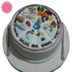 Fondant, Goku, Amazing Cakes, Birthday Cake, Desserts, Health And Nutrition, Cakes, Tortilla Pie, Cup Cakes