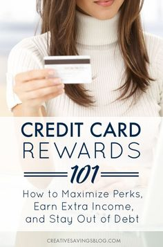 Credit cards get such a bad rap, but they can be incredibly helpful in providing a little extra cash when the budget is tight. This in-depth post teaches you everything you need to know about credit card rewards, including how to maximize your earnings AN Fix Bad Credit, Bad Credit Credit Cards, Credit Card Points, How To Fix Credit, Rewards Credit Cards, Best Credit Cards, Credit Score, Money Tips, Money Saving Tips