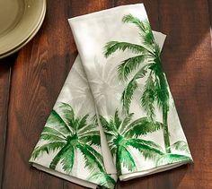 18 Palm Trees Kitchen Towel, Set of 2 #potterybarn
