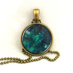10% SALE Necklace Galaxy Jewelry Universe Space Pendant Necklaces,Constellation,Gift For Her. £7.69, via Etsy.