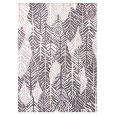 Hand-tufted wool rug with a layered leaf motif.   Product: RugConstruction Material: 100% WoolColor: WhiteFeatures:  Hand-tuftedPlush pileEasy care Note: Please be aware that actual colors may vary from those shown on your screen. Accent rugs may also not show the entire pattern that the corresponding area rugs have.Cleaning and Care: Vacuum regularly. Spot clean immediately with mild soap and cold water. Do not use oxygen cleaners. Avoid direct sunlight. Professional cleaning is…