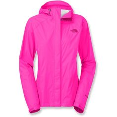 The North Face Venture Rain Jacket ($69) ❤ liked on Polyvore featuring activewear, activewear jackets and the north face