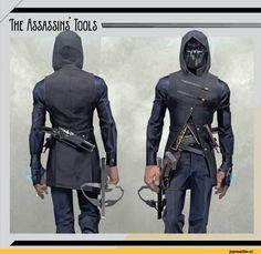 Dishonored, Games, Corvo Attano, Dishonored 2, concept art