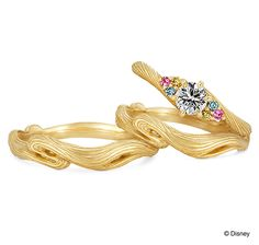 """【Rapunzel】 Movie """"Tangled"""": A ring of the shining long hair of Rapunzel with magical powers."""
