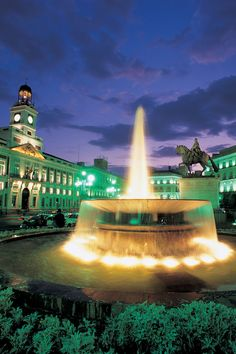 Looking for hangout place in Madrid? Go to Puerta del Sol, is one of most popular Plaza in Madrid, Spain.