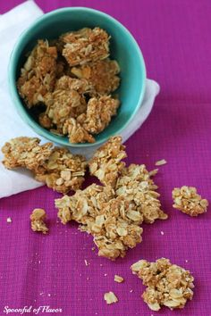 Granola Clusters - Spoonful of Flavor, I'm going to play with this to adjust it for us.