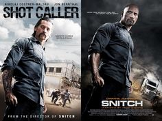 Poster from Shot Caller and Snitch identical