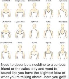 Different necklines