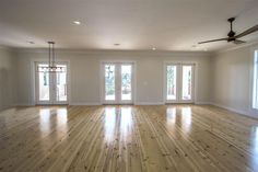 """Alabama Heart Pine Flooring from Southern Wood Specialties in Flomaton, AL. This is a """"new heart"""" that usually sells around $3 per sq ft unfinished. P: 251-296-2556 Heart Pine Flooring, Pine Floors, Hardwood Floors, Log Cabin Siding, Alabama, Southern, Wood Floor Tiles, Wood Flooring"""