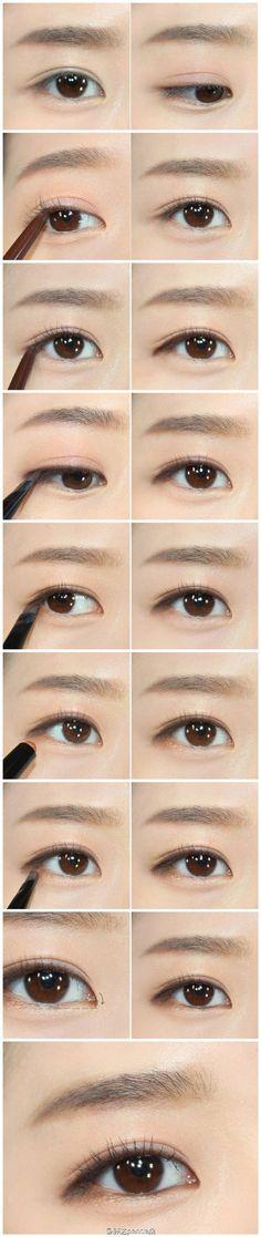 iu eye make up