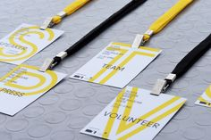 Sofia Design Week - 2013 Badges by Ivaylo Nedkov, via Behance