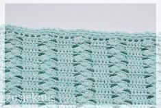 Unique and gorgeous crocheted blanket.Free English pattern at bottom of page! Crochet Stitches For Blankets, Baby Afghan Crochet, Filet Crochet, Diy Crochet, Afghan Blanket, Blanket Stitch, Afghan Patterns, Stitch Patterns, Crochet Designs