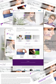 """The new website for Women's Health Hypnotherapy is now """"live"""" at http://womenshealthhypnotherapy.com/"""
