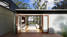 Pavilion chic by Tim Stewart Architects | Designhunter - architecture & design blog