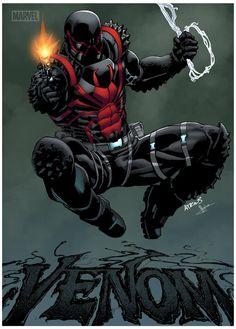 colored version venom by Robert Atkins
