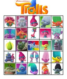 trolls movie 2016 party games