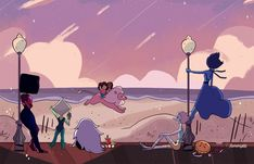this should be in the new theme song for steven universe! Lapis Lazuli, Cartoon Network, Hogwarts, Steven Universe Pictures, Chibi, Steven S, Fanart, Universe Art, Adventure Time