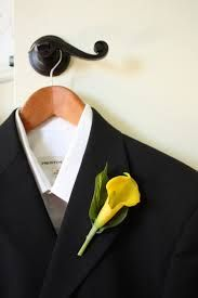 Image result for images of calla lilies boutonnieres